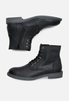 Jack & Jones - Karl leather boot - black
