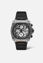 Police - Norwood 3 hand date watch - black