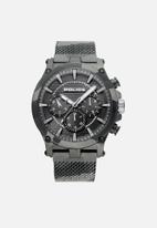 Police - Police mesh strap watch - grey