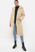 Brave Soul - Heavenly long jacket - beige