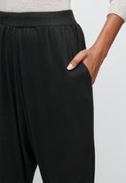 edit - Soft harem pant - black