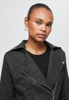 edit - Ponti biker jacket - grey