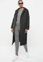 Brave Soul - Shard coat - black