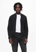Only & Sons - Ray life jacket - washed black