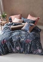 Linen House - Acacia garden duvet cover set - navy