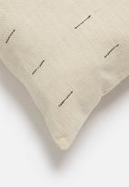 Sixth Floor - Lumbar cushion cover - black & natural