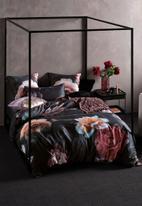 Linen House - Mia duvet cover set - black