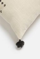 Sixth Floor - Tempo cushion cover - black & natural