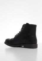 Superbalist - Jian lace-up boot - black