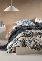 Linen House - Nellie duvet cover set - petrol