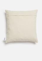 Sixth Floor - Lash cushion cover - natural & black