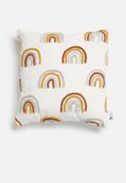 Sixth Floor - Bow cushion cover - multi