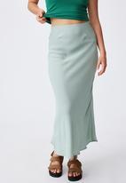 Cotton On - All day slip skirt - lush green
