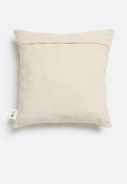 Sixth Floor - Talia cushion cover - mustard & natural