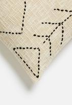Sixth Floor - Bree cushion cover - natural & black