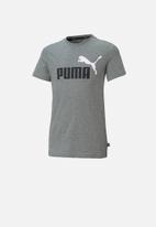 PUMA - Logo short sleeve tee - grey