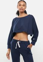 MOVEPRETTY - The jess lounge top - navy