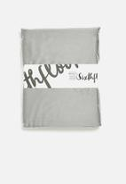 Sixth Floor - 100% bamboo super soft fitted sheet - grey