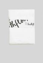 Sixth Floor - 100% bamboo super soft fitted sheet - white