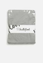 Sixth Floor - 100% bamboo super soft flat sheet - grey