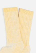 Cotton On - Day dream bed sock - ochre