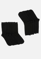Brave Soul - 3 pack Peggie socks - black