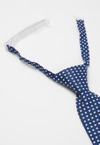 MINOTI - Spotty tie - navy