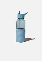 Typo - Premium drink it up bottle-wave denim blue