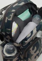 POP CANDY - Boys camo diaper bag - multi