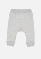 Cotton On - Tatum trackpant - cloud marle rabbit grey nep