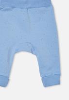 Cotton On - Tatum trackpant - dusk blue petty blue nep
