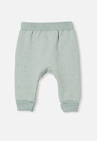 Cotton On - Tatum trackpant - stone green nep