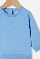 Cotton On - Harley sweater - dusk blue/petty blue nep
