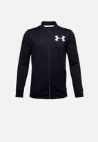 Under Armour - Ua boys pennant jacket 2.0 - black  & white