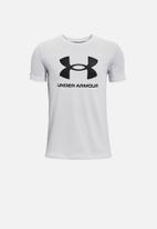 Under Armour - Ua boys sportstyle short sleeve tee - grey