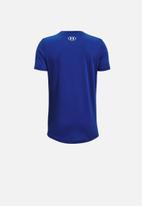 Under Armour - Ua boys sportstyle short sleeve tee - blue & white