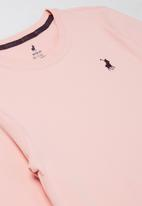 POLO - Girls mia long sleeve tee - pink