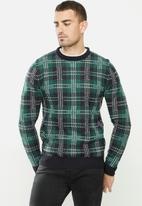 Brave Soul - Rainsford knitwear - multi