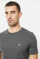 Original Penguin - Embroidered t - charcoal