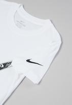 Nike - Futura confetti short sleeve tee - white