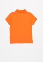 POLO - Boys Austin short sleeve golfer - orange