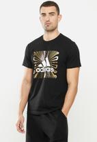 adidas Performance - Extmo fl T-shirt - black