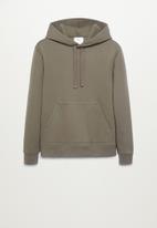 MANGO - Sweatshirt bono - dark green