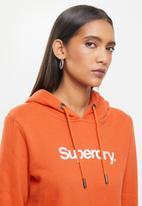 Superdry. - Cl patina hoodie - orange