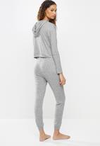 Blake - Soft touch sleepsuit - grey