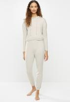 Blake - Soft touch sleepsuit - taupe