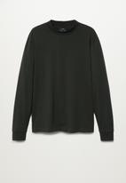 MANGO - T-shirt javi - green