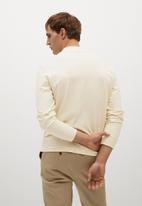 MANGO - T-shirt javi - white natural