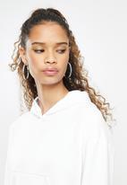 Blake - Cropped hoodie - white