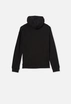 Free by Cotton On - Henley free hoodie - true black